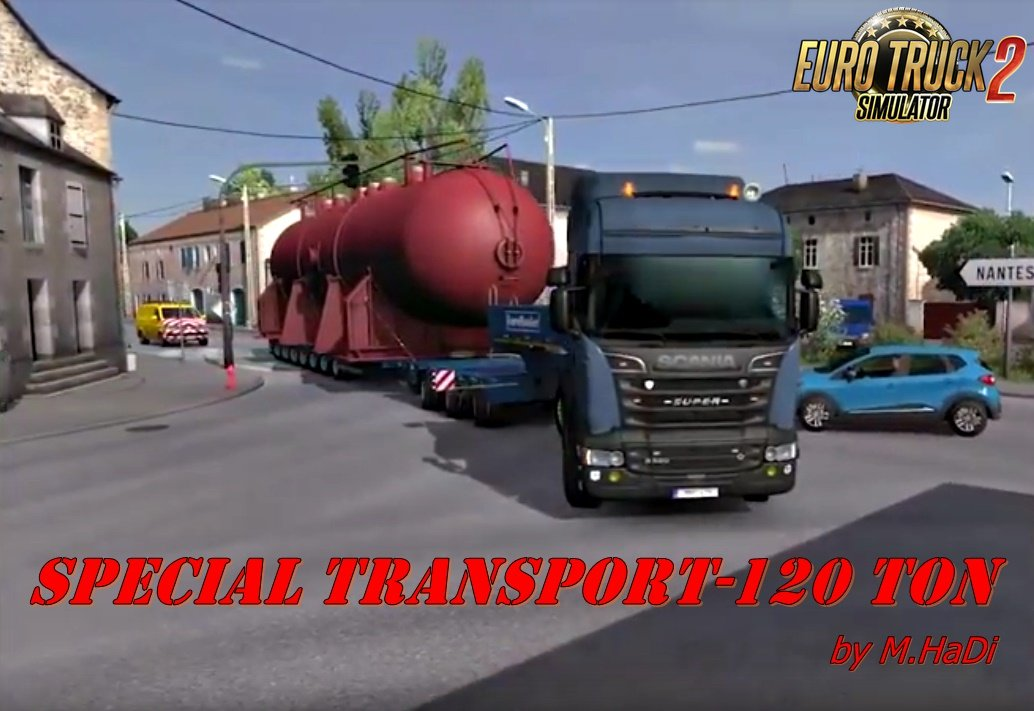 120 Ton for Special Transport by M.HaDi