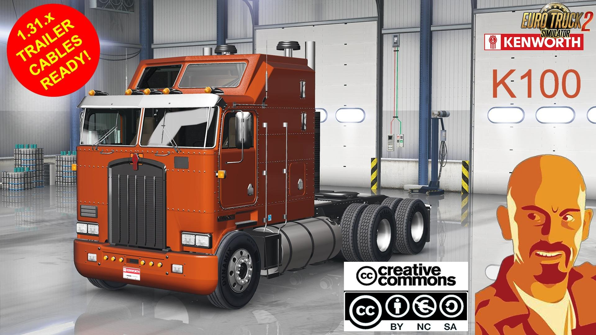 Kenworth K100 for Ets2 [1.31.x]