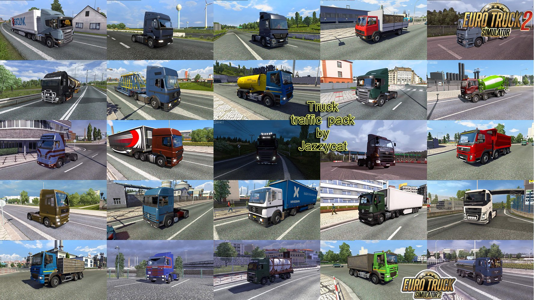 Truck Traffic Pack v3.1.1 by Jazzycat