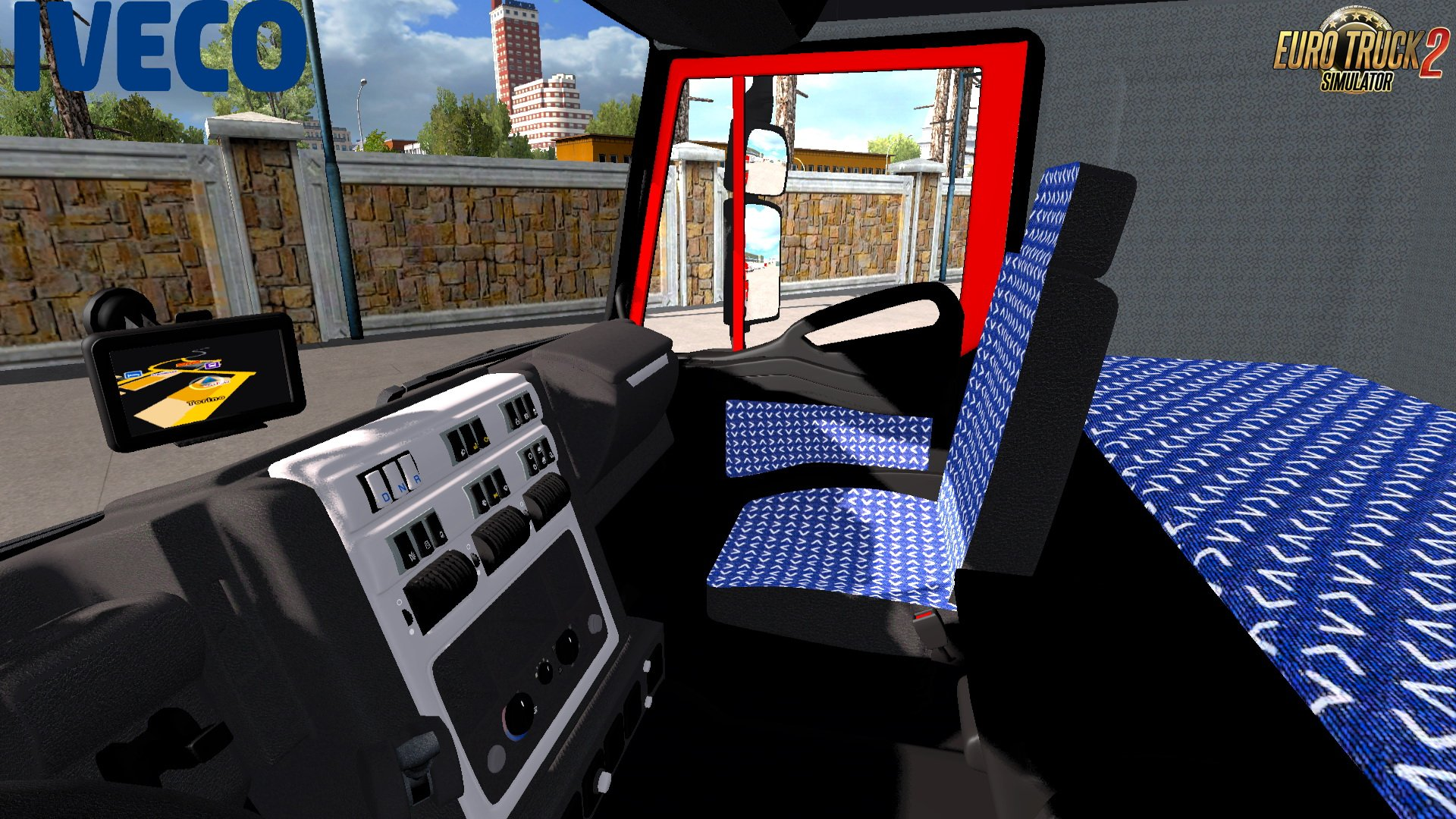 Iveco Stralis Brasil Edition + Trailer v1.0 by South Gamer (1.31.x)