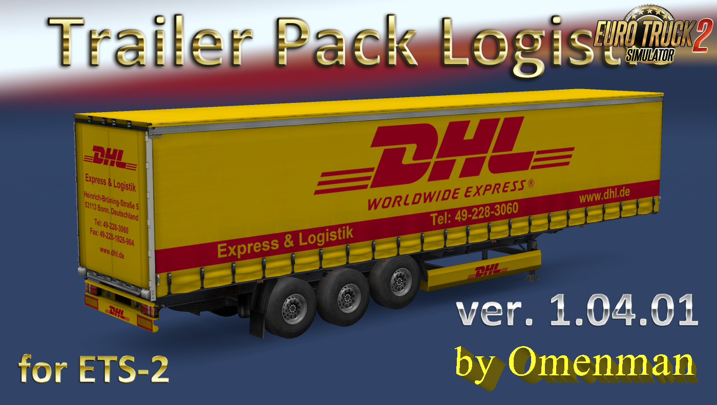 Trailer Pack Logistic v.1.04.01 for Ets2