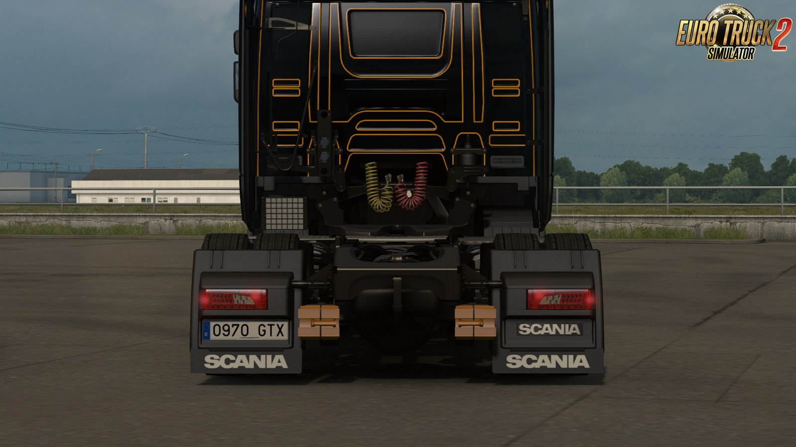 Low deck chassis addon for Scania S&R Nextgen v1.3 by Sogard3