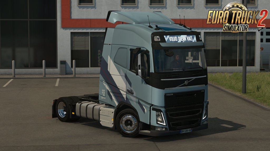 Low deck chassis addon for Eugene Volvo FH v1.2 by Sogard3 [1.32.x]