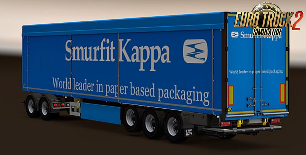 Rudis Skin Mix v2.0b for Kraker Semi and Tandem Trailers
