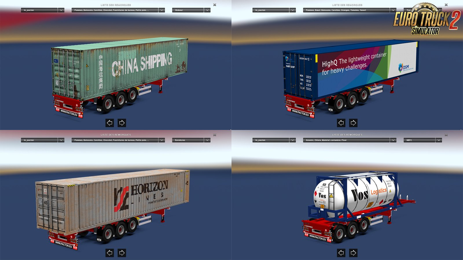 PACTON Container Pack (1.31.x)