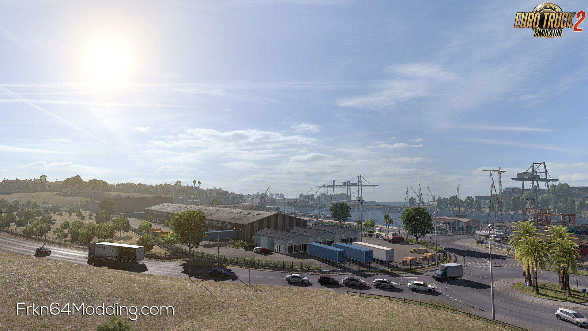 Realistic Graphics Mod v5.0 by Frkn64 (1.37.x) for ETS2