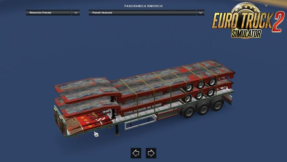 """Reworked cargo """"Overcargo"""" for Scs flatbed in Ets2"""