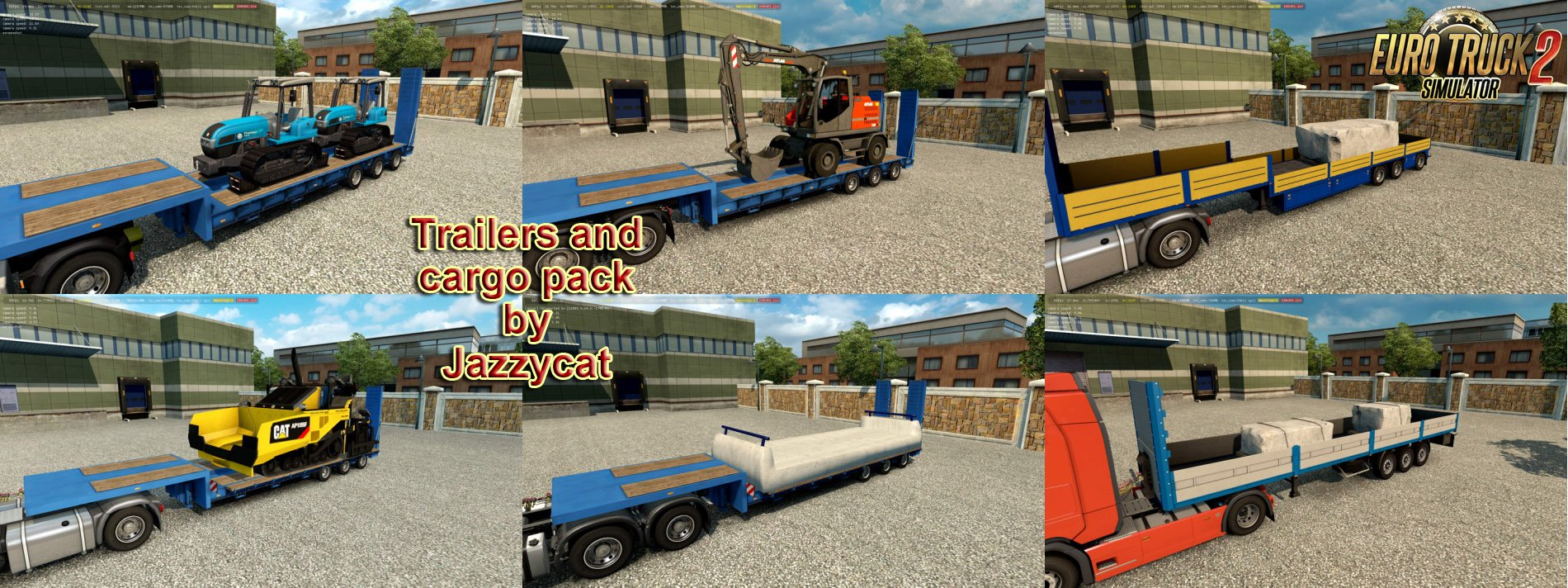 Trailers and Cargo Pack v7.1 by Jazzycat