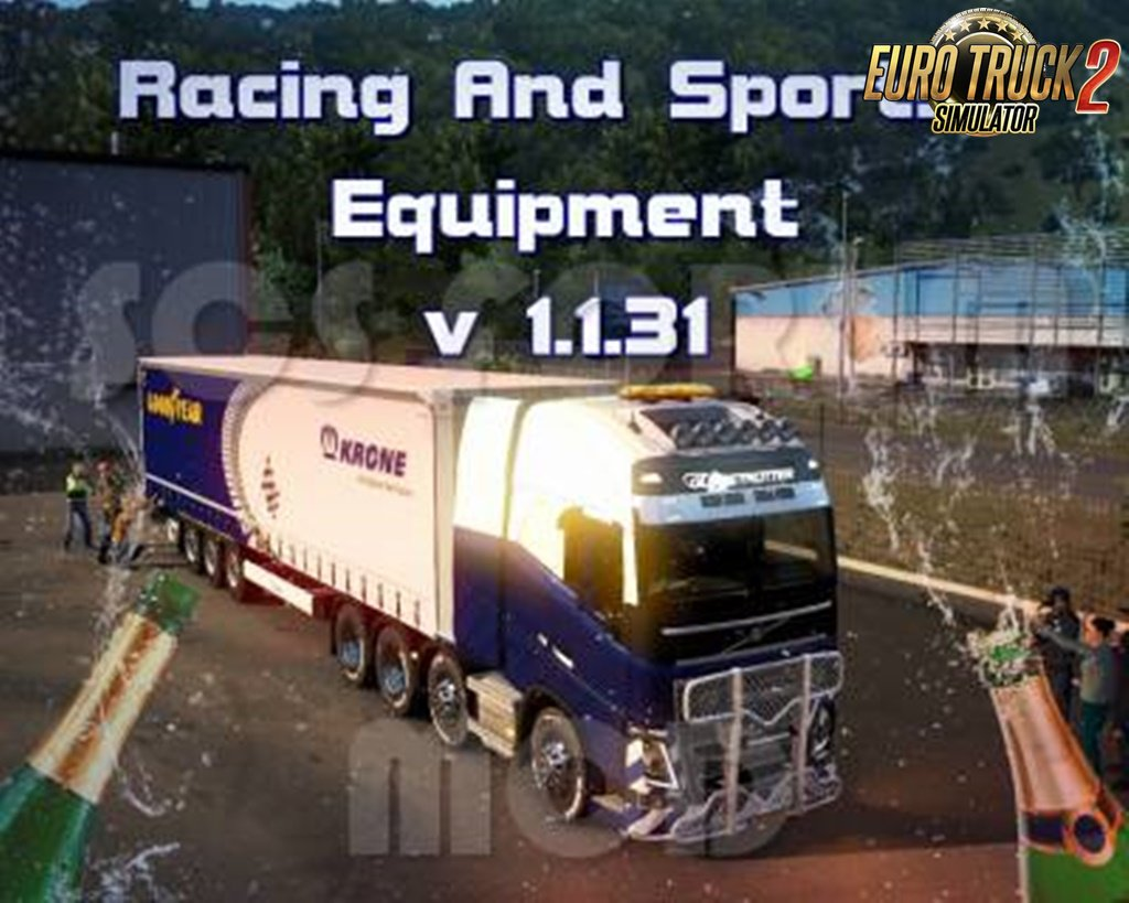 GOODYEAR Racing Equipment! - Special Transport!