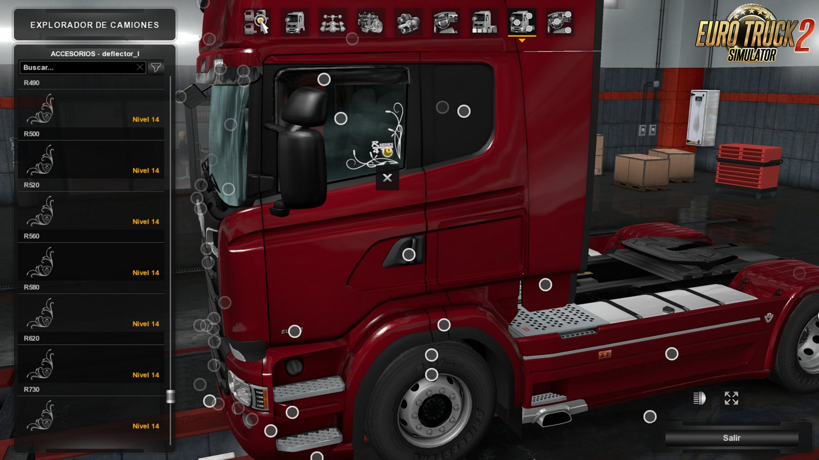 Low Deck Improved Chassis For Rjl S Scania R Amp S V1 0 By