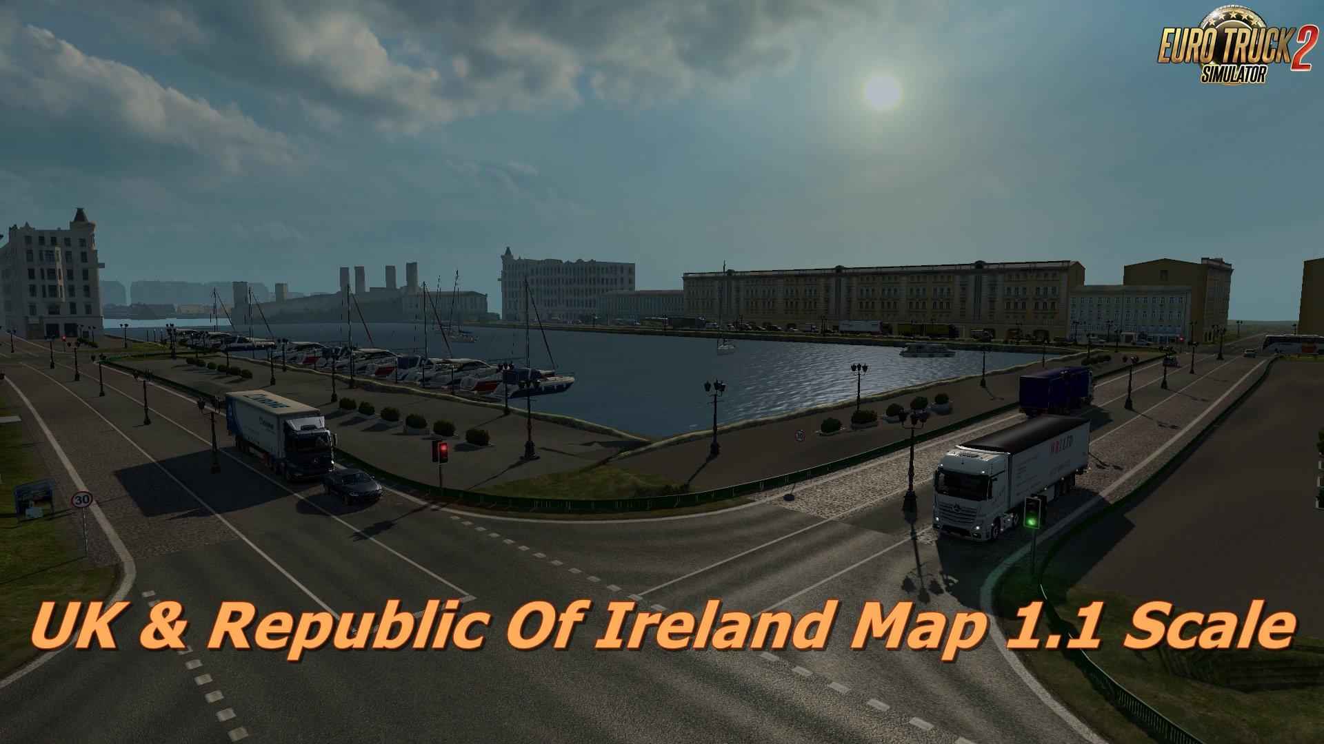 UK & Republic Of Ireland Map 1.1 Scale [1.31.x]