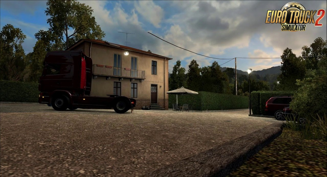 House – Near Cassino (IT) for Ets2