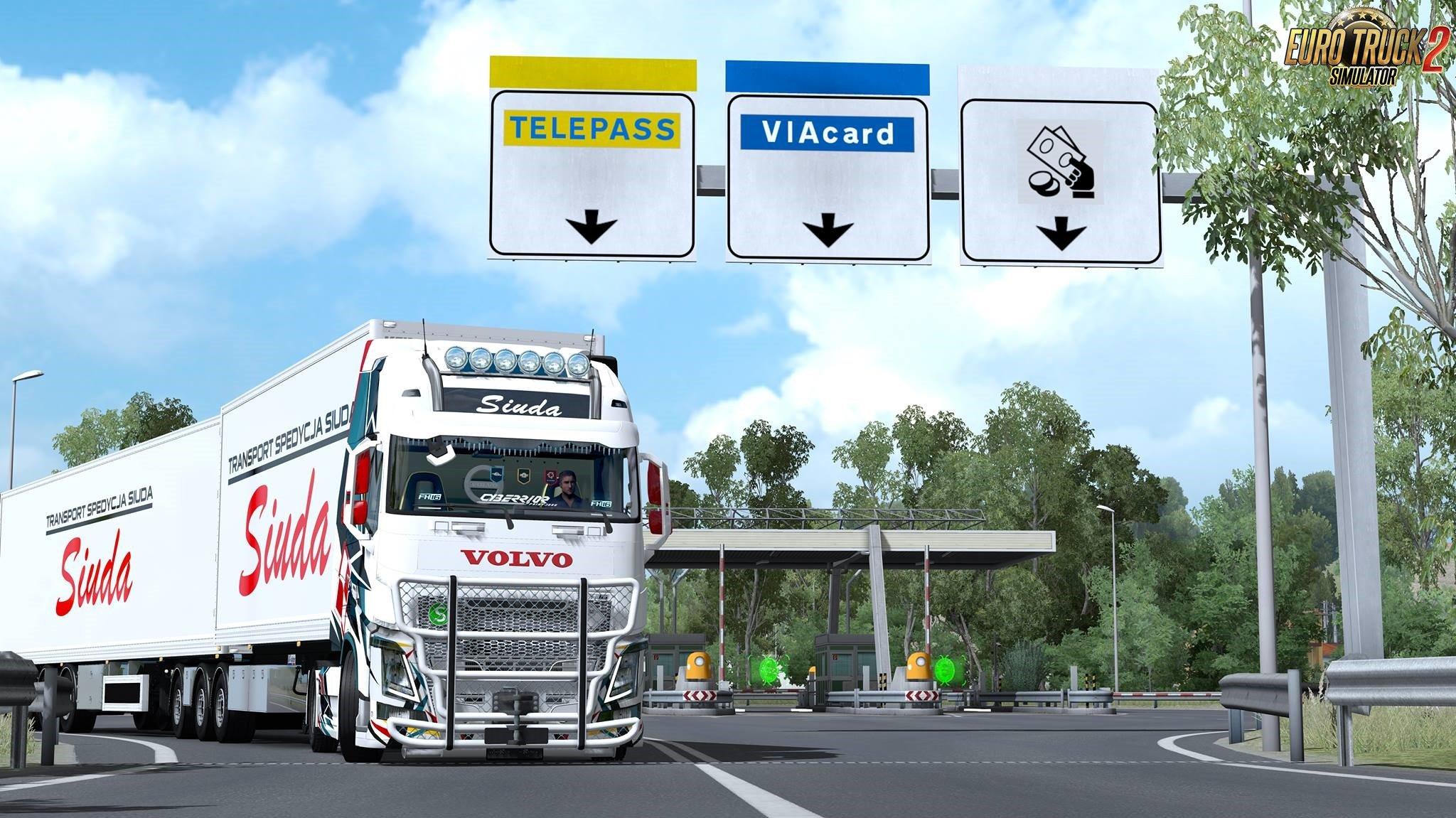 VAK Trailer Siuda Transport Paintjobs
