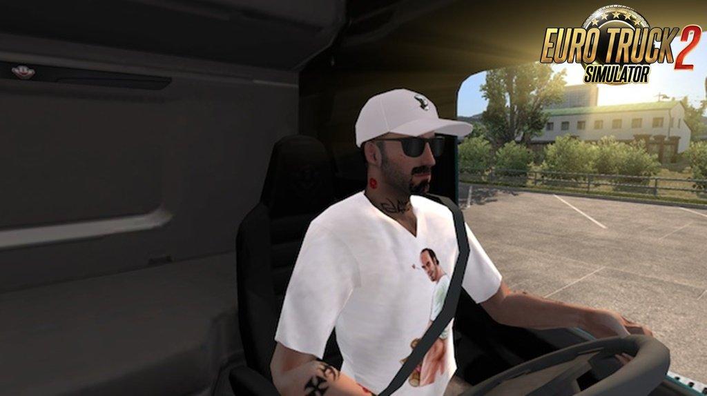 Custom driver skin TREVOR