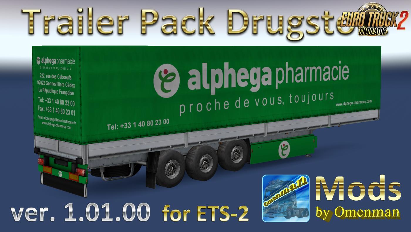 Trailer Pack Drugstore v.1.01.00 by Omenman