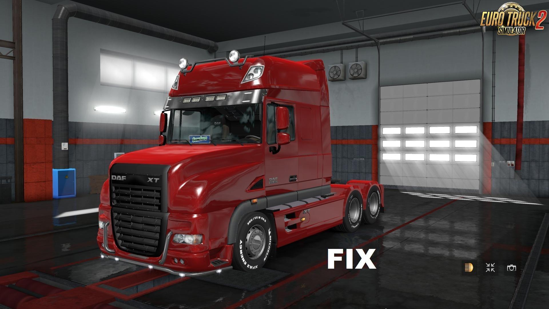 Fix for Truck DAF XT Rework v1.0 [1.31.x]