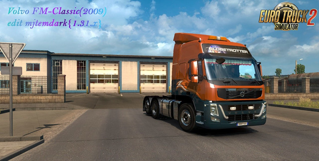Volvo FM13 2009 by AU44 edit Mjtemdark [1.31.x]