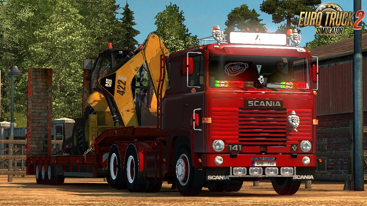Scania LK 141 v2.0 for Ets2