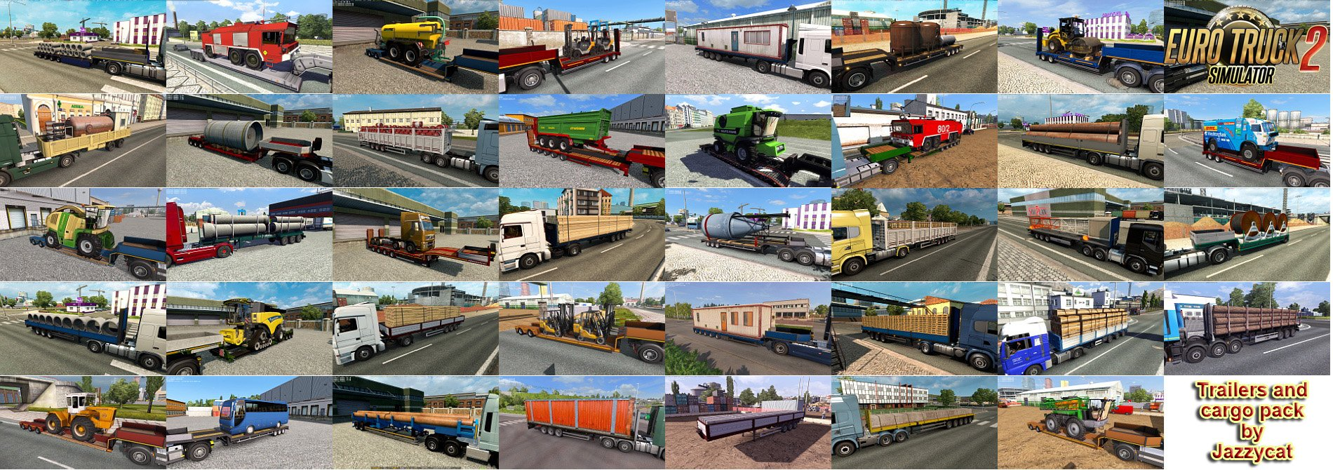 Trailers and Cargo Pack v7.7 by Jazzycat