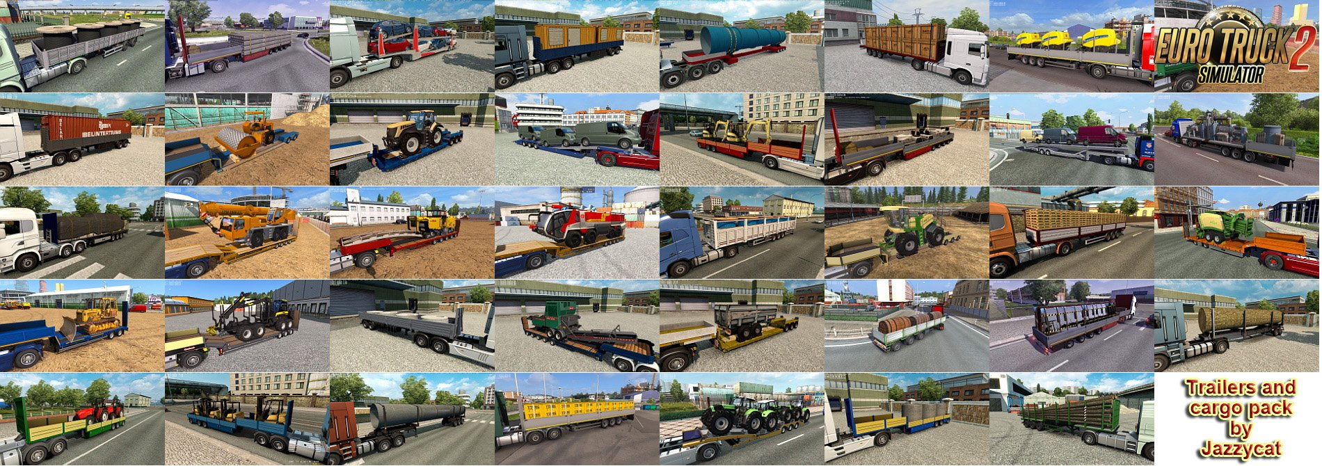 Trailers and Cargo Pack v8.7.1 by Jazzycat (1.38.x)