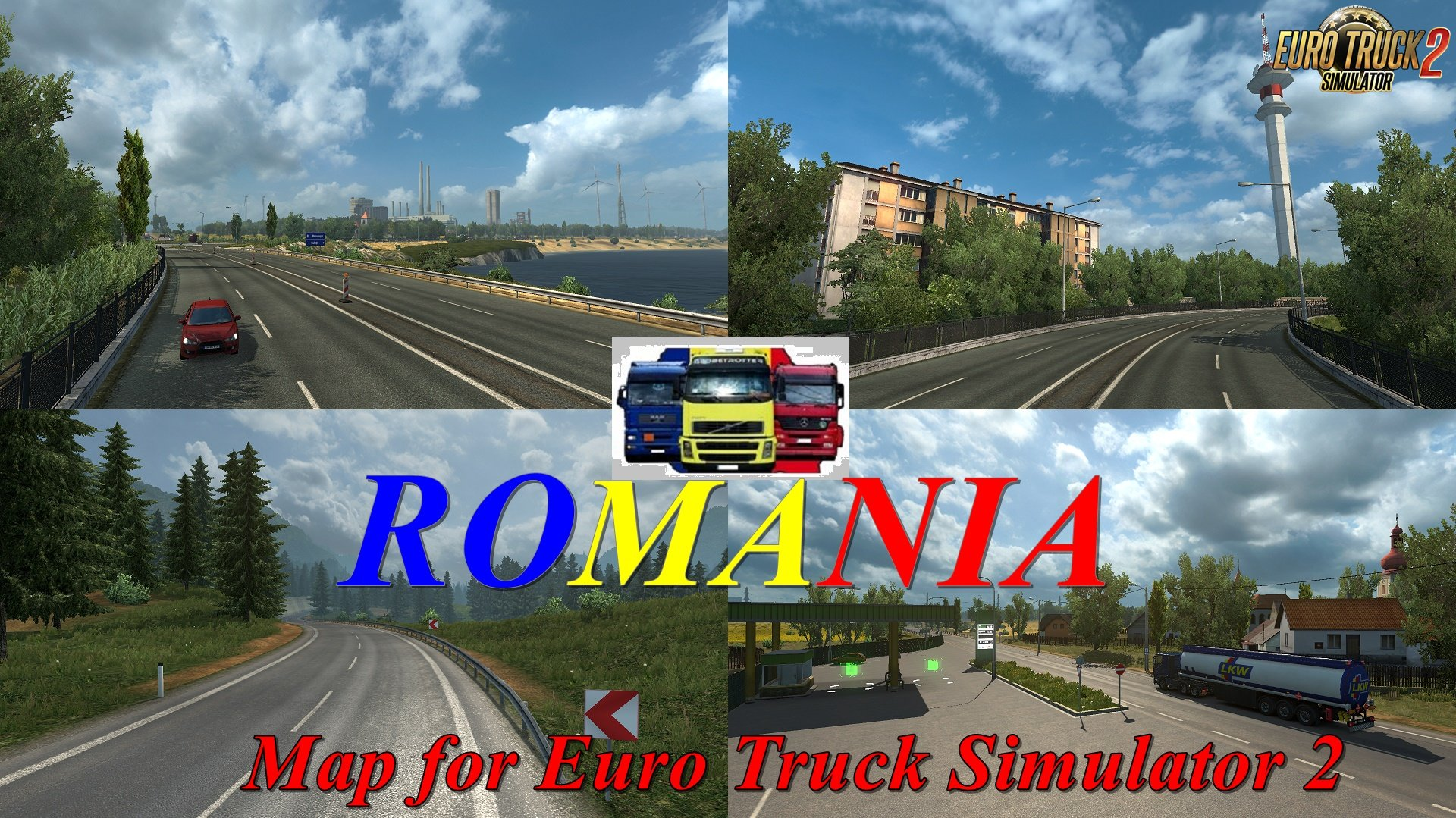ROMANIA Map v1.0 by MIRFI