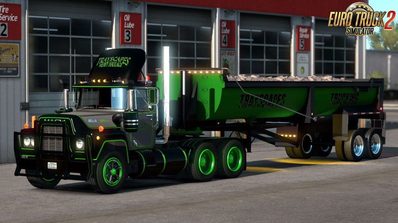 Trayscapes Mack R Series Skins Ats and Ets2