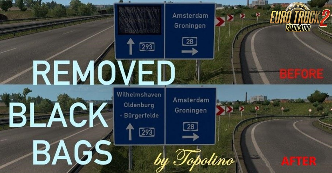Removed Black Bags on Signs (1.32 beta)