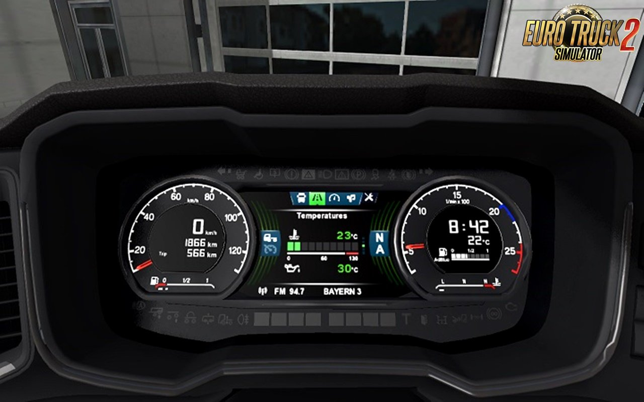 Scania S dashboard computer 1.2.2 [1.32.x]