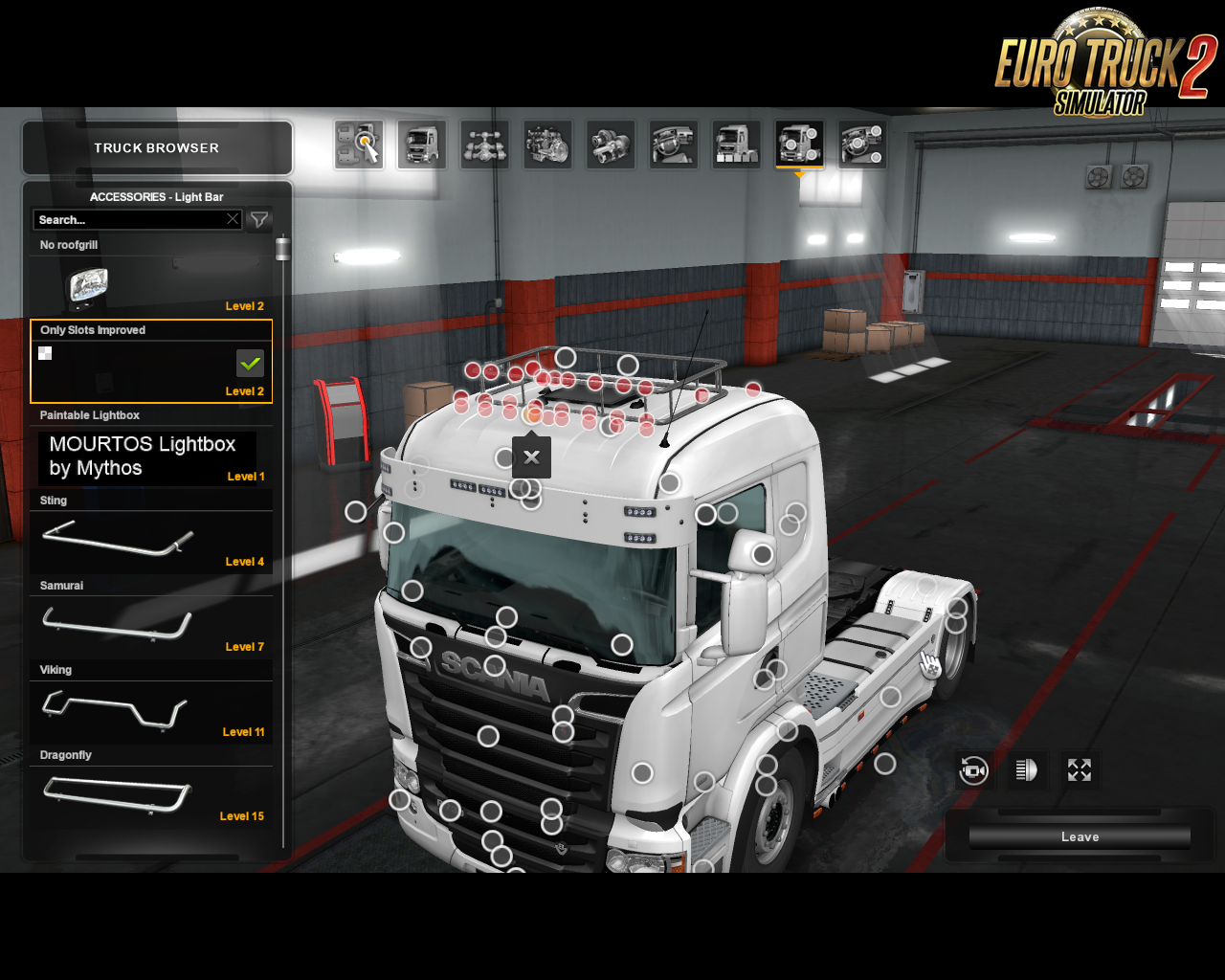 Accessories Pack for RJL's Scania v1.1