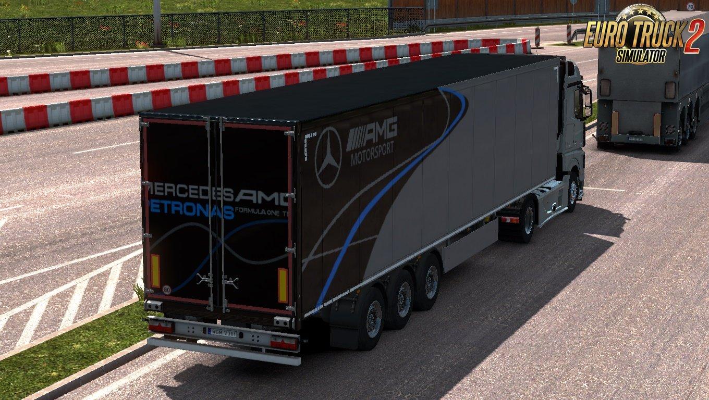 Mercedes AMG F1 Skin pack by Borghjes