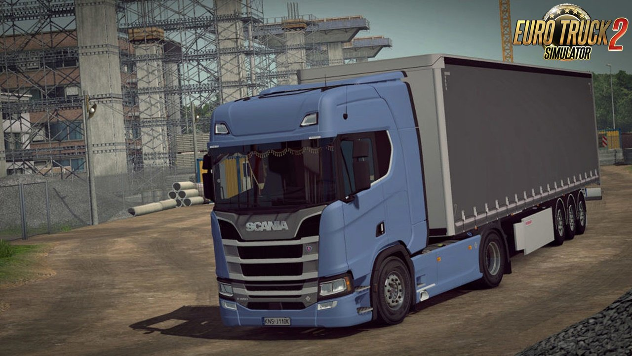 Improved Air Suspension for all Trucks in Ets2 [1.32.x]