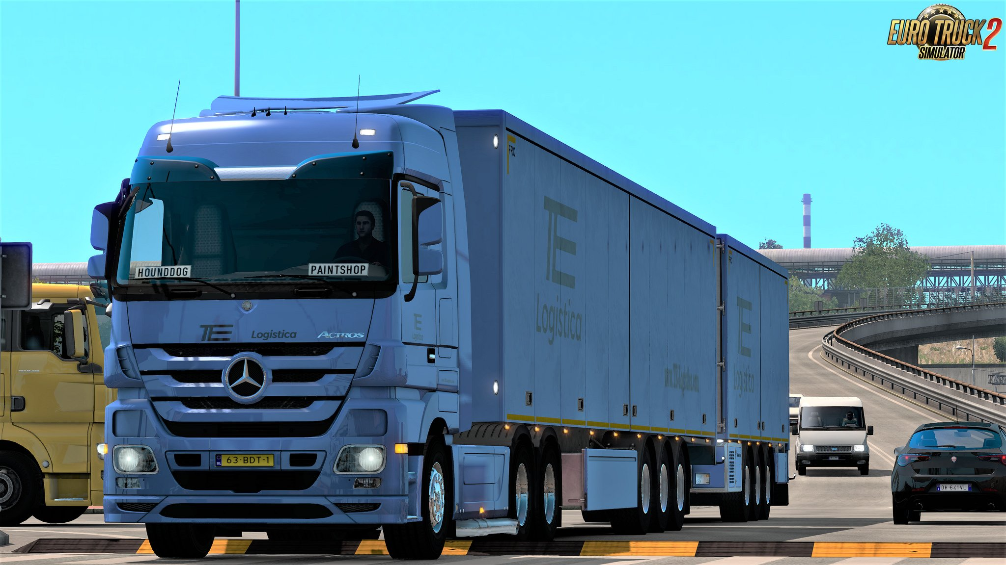 SCS Company Skins trailers-ownership v1.0 for Ets2