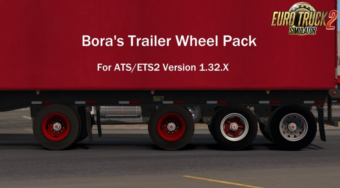 Boras Trailer Wheel Pack v1.0 (1.32.x)