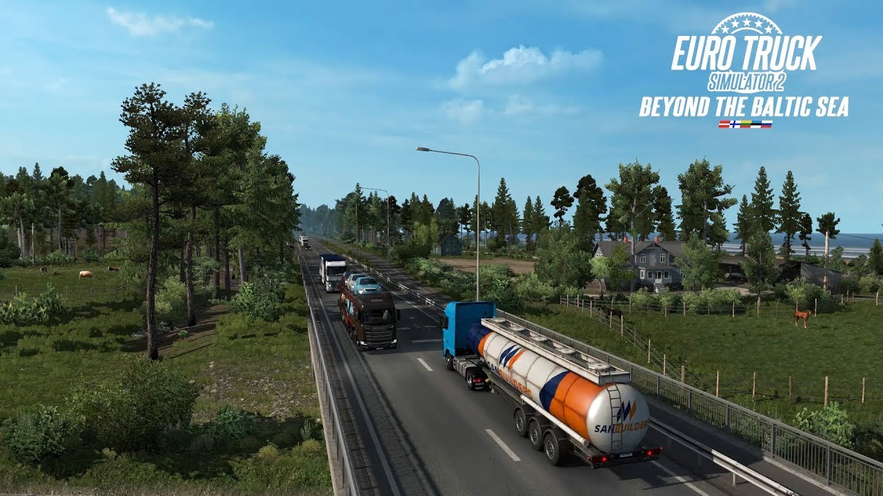 Beyond the Baltic Sea DLC available for Euro Truck Simulator 2