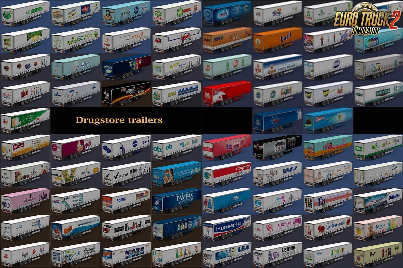 Drugstore Products Trailers Updated by Maryjm