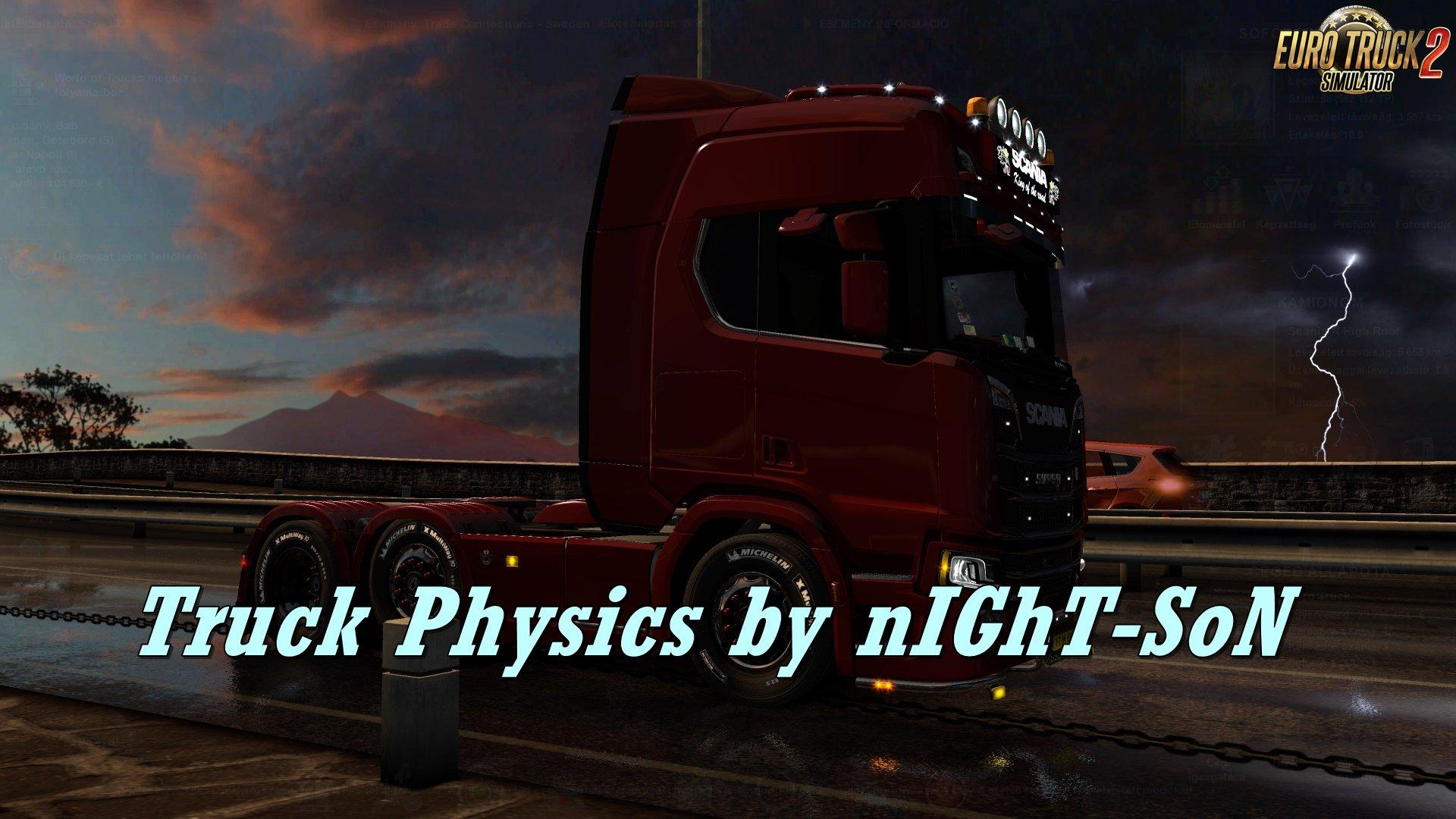 Truck Physics v3.6.1 by nIGhT-SoN [1.32.x]
