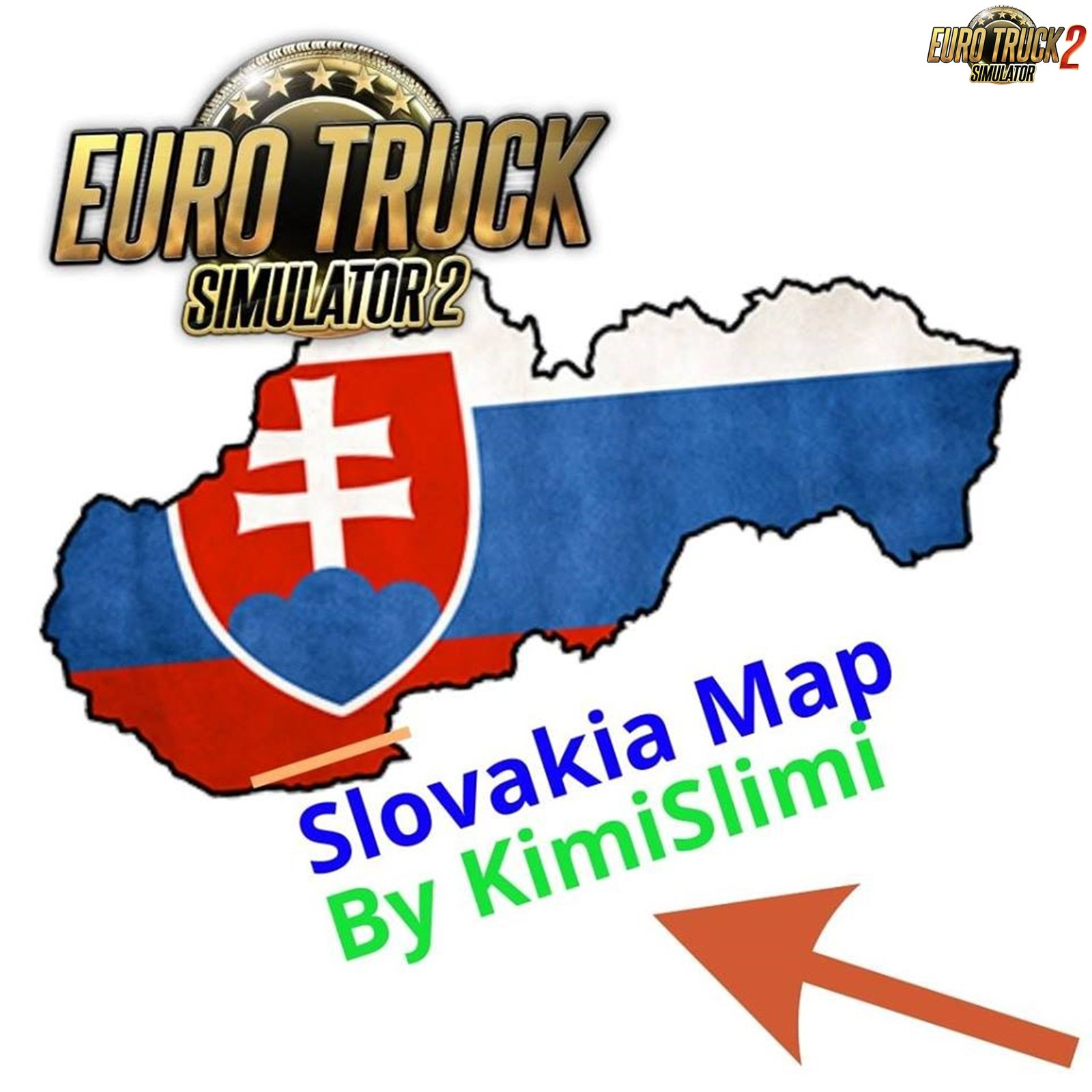 New Slovakia Map v7.0 by KimiSlimi [1.32.x]