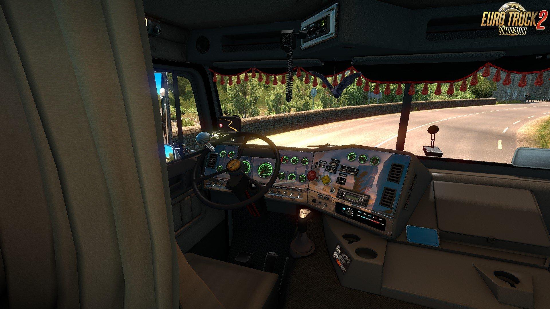 Freightliner FLB + Interior v2.0.6 Edit by Harven (1.35.x) for ETS2