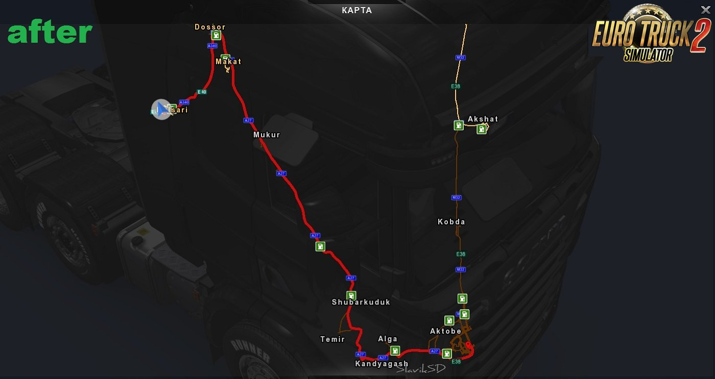 Road Fix for The Great Steppe Map v1.2