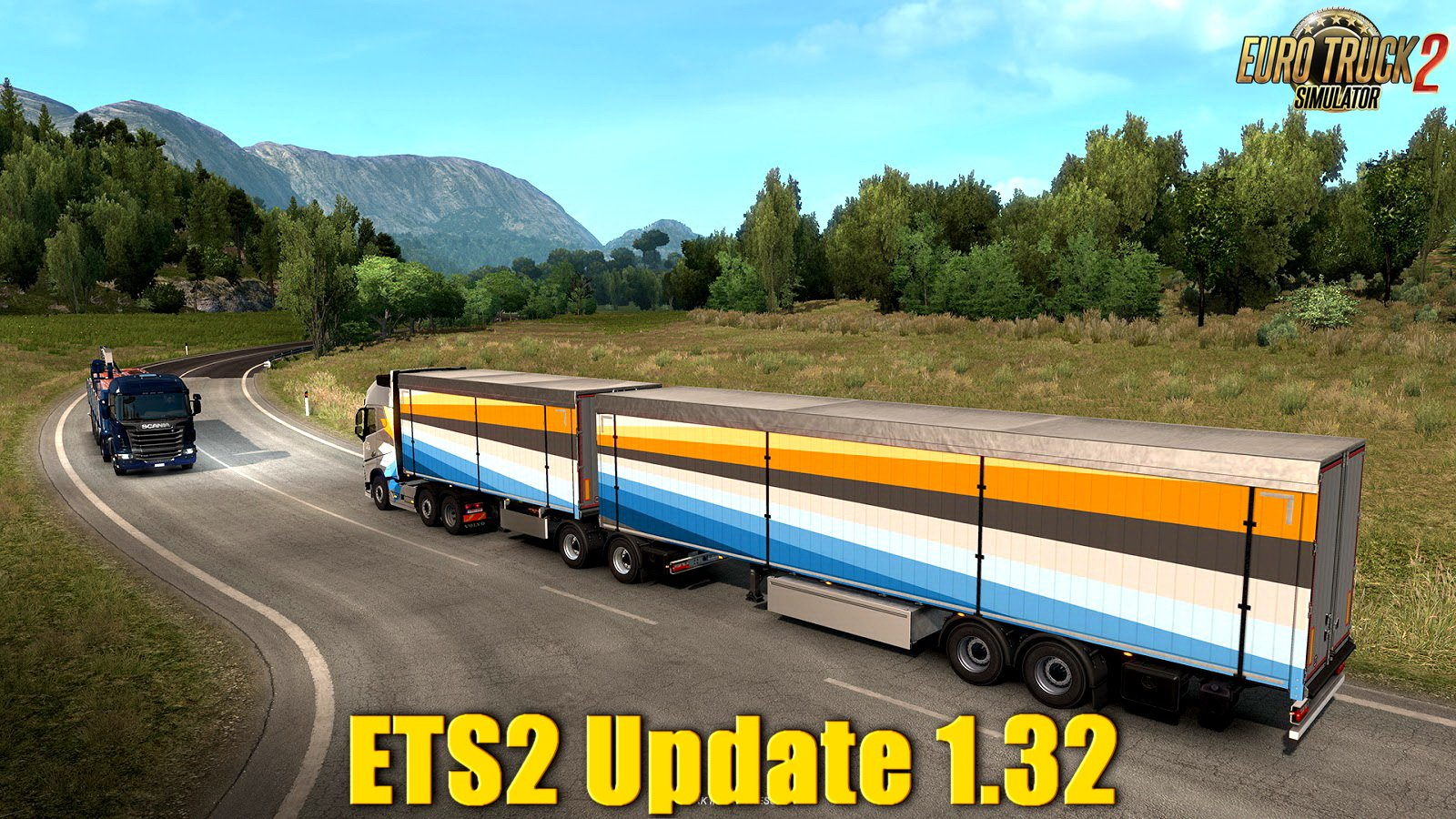ETS2 Update 1.32 was released