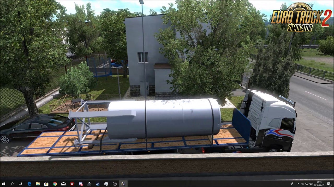 Small House in Hamburg for Ets2