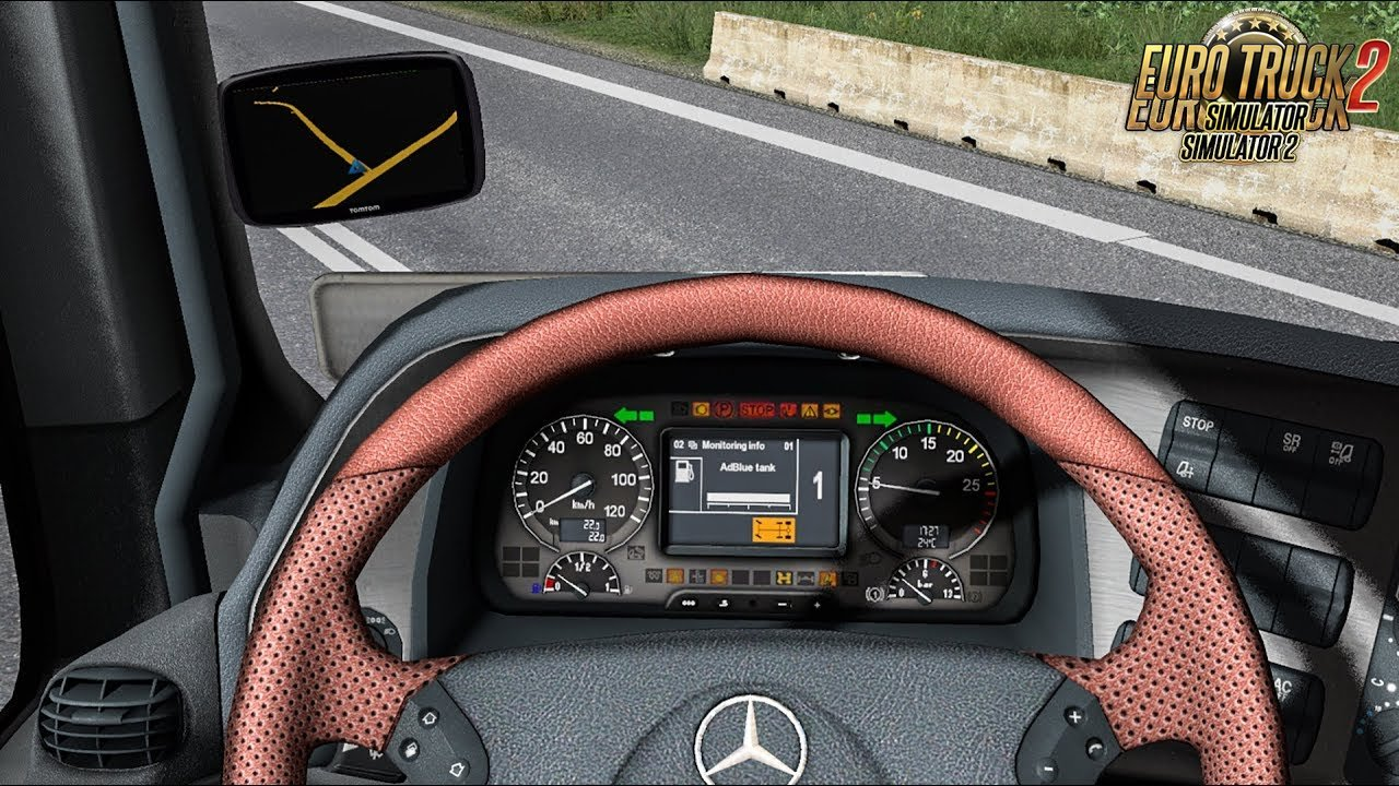 Mercedes Actros MP3 dashboard computer [1.31.x-1.32]
