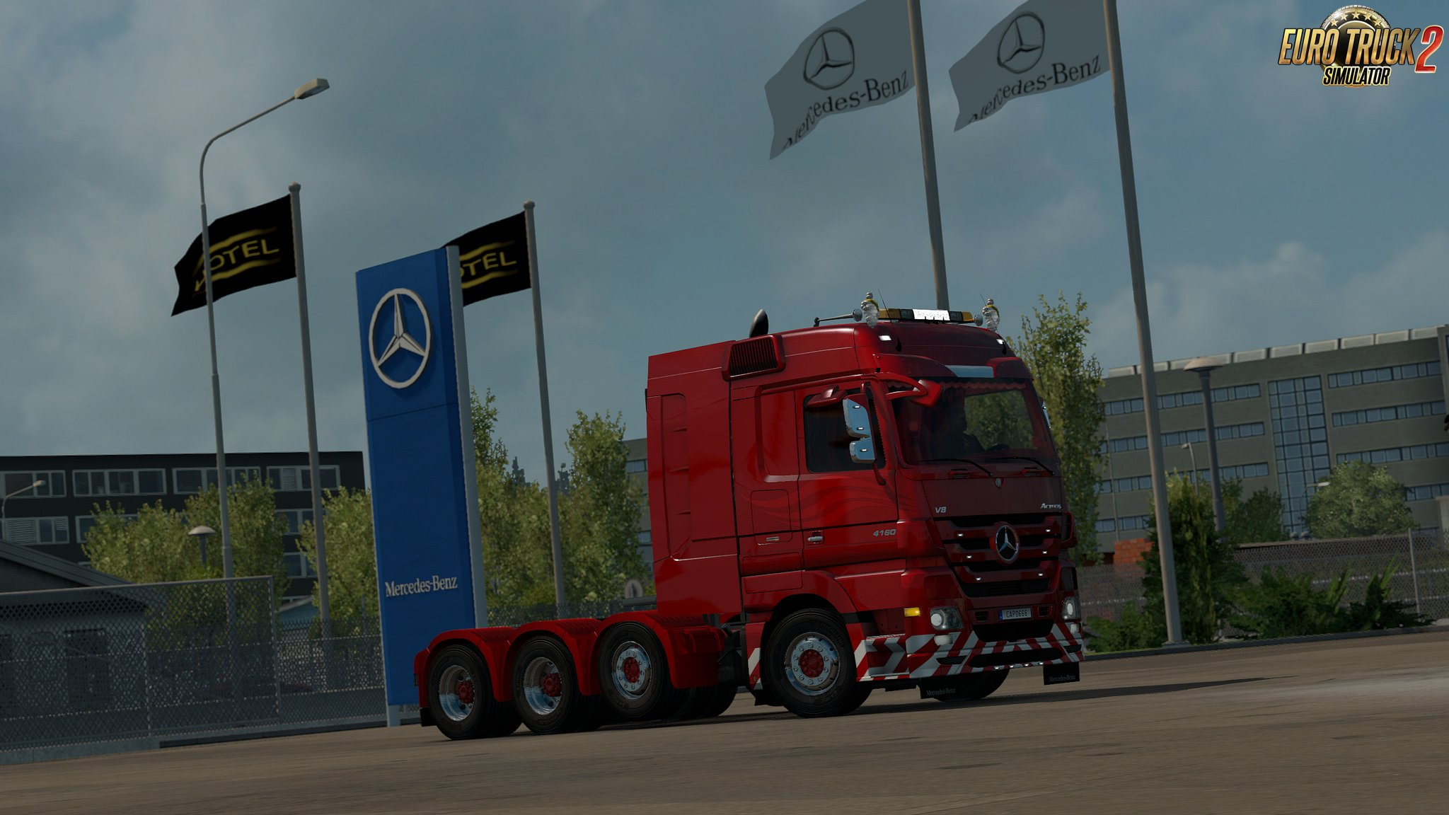 MB Actros MP3 Reworks v3.8 - ByCapital [1.32.x]