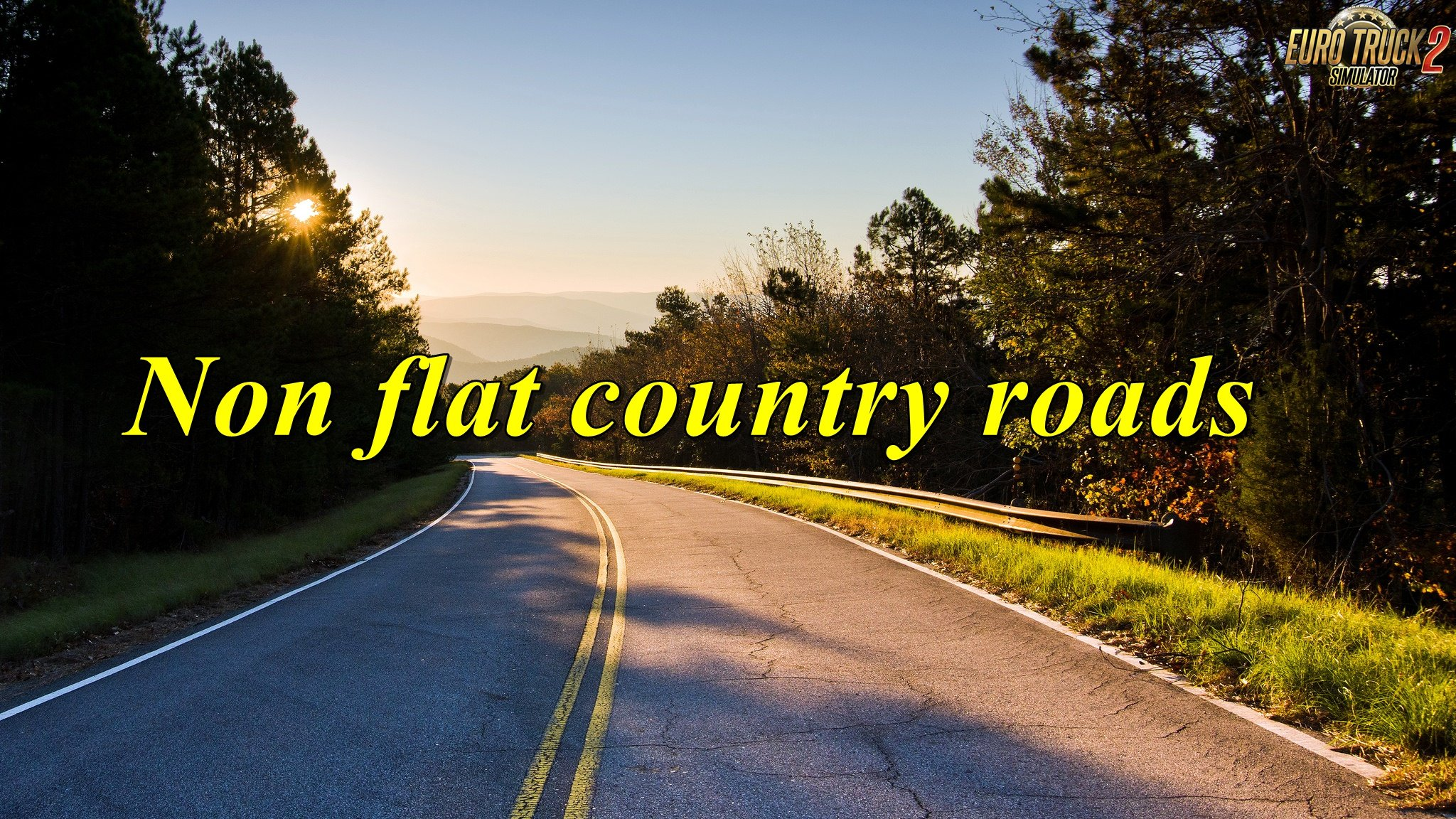 Non flat country roads v 0.2 by Todor Alin