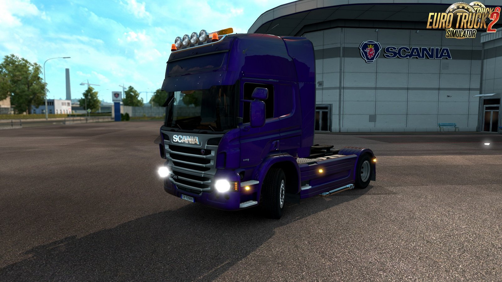 Scania P Standalone v1.5 (GT-Mike port)
