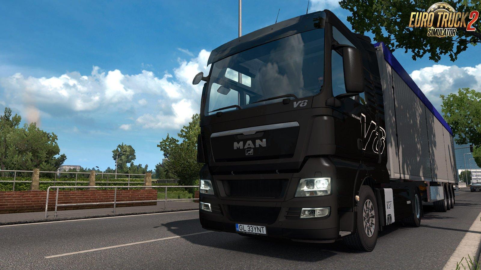 MAN TGX Truck v2.5 [1.32.x]