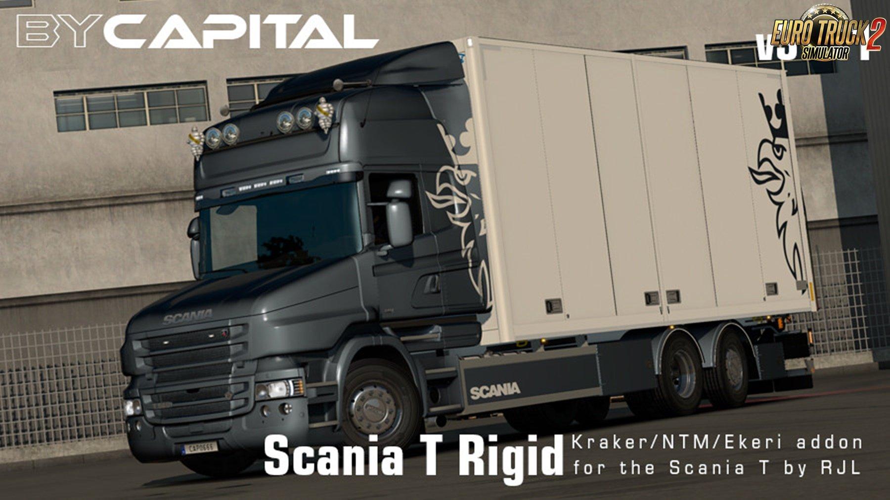 Rigid chassis for RJL Scania T & T4 (Kraker/NTM/VAK/Ekeri) v3.2.1 - ByCapital
