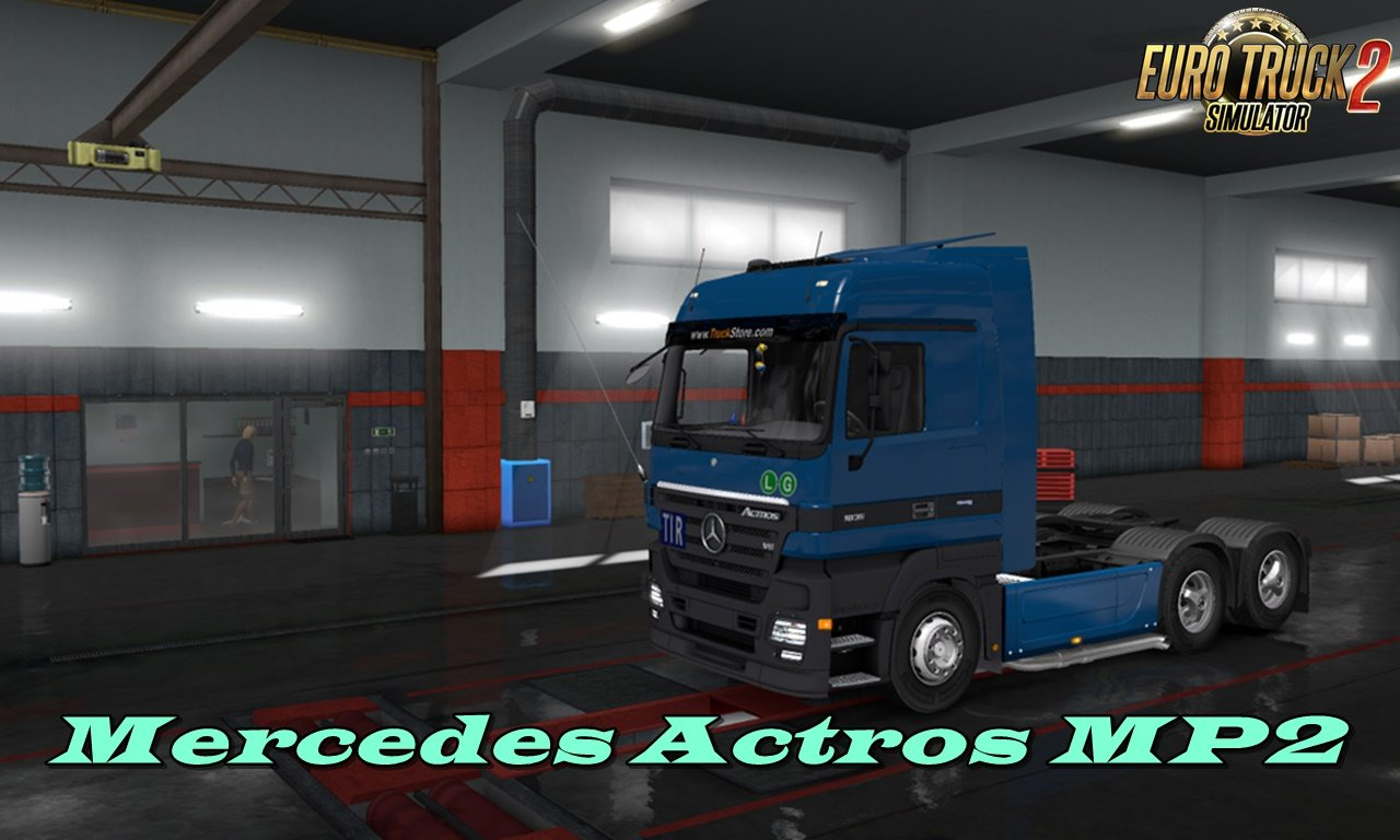 Mercedes Actros MP2 RC2 [1.32.x]