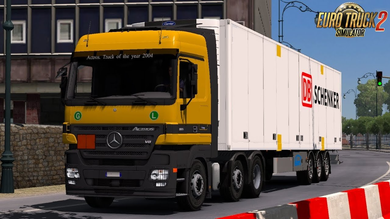 Mercedes Actros MP2 and MP3 sound by Leen