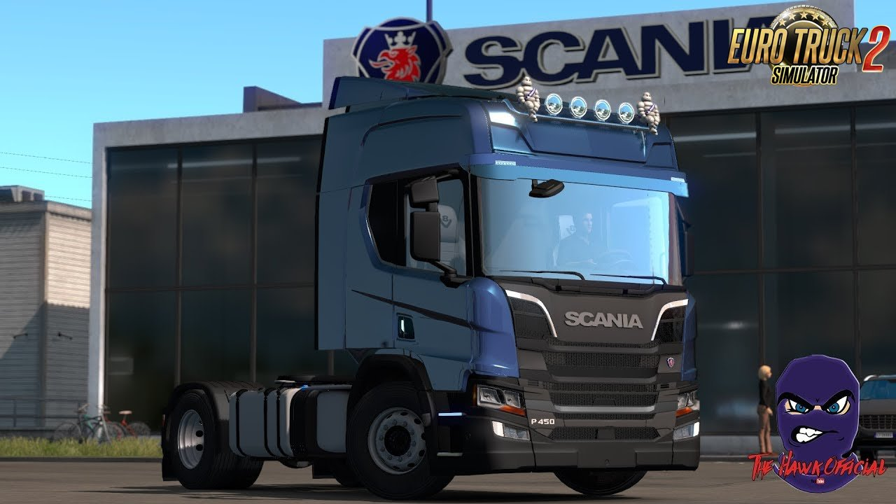 Scania R S P + Cabin DLC and BDF by The hawk